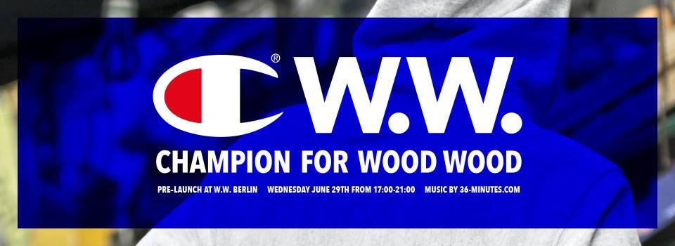Champion X Wood Wood
