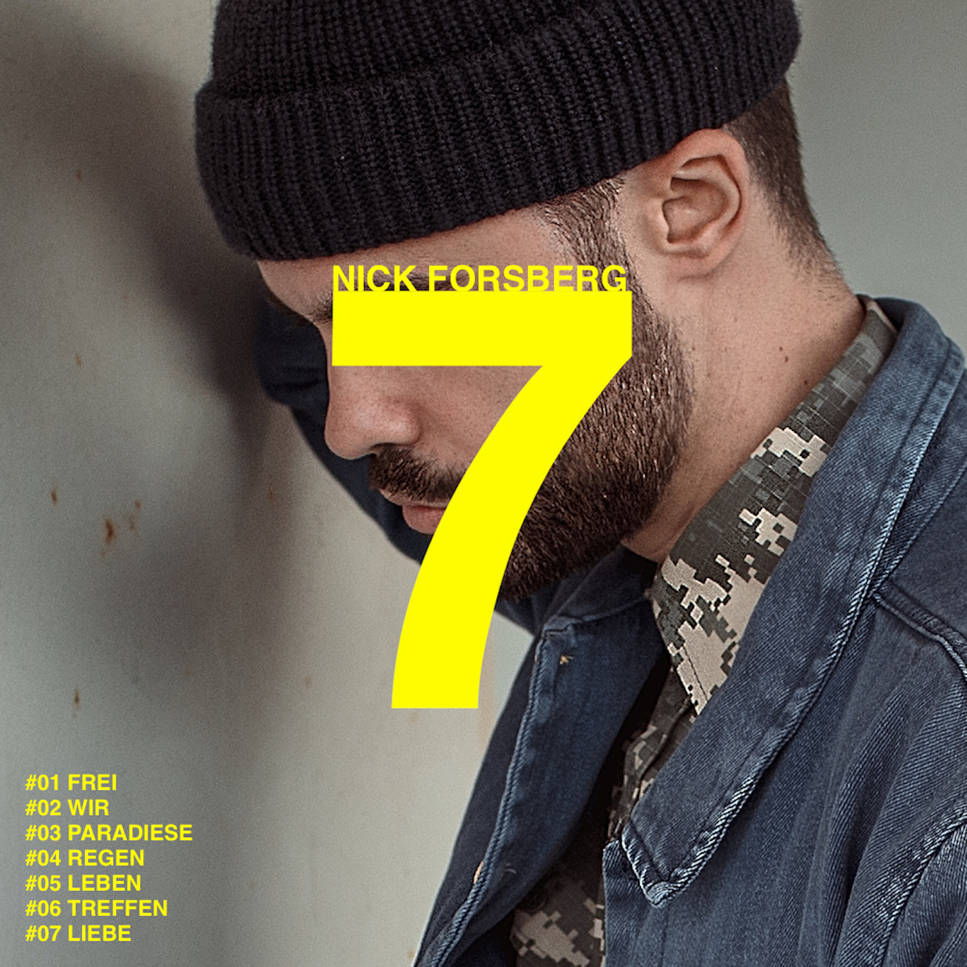 Nick Forsberg - 7 EP Cover
